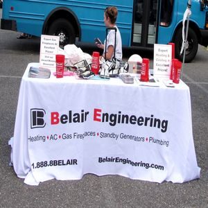 Belair Engineering provided funds and a display